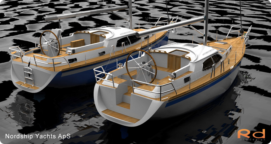 3d renderings, transportation design, BUCHWALD and BORGHEGN, Scandinavian yacht designs, Scandinavian luxury yachts, 3d art, Excellent deck-saloon, alias studiotools, keyshot, roug 3d, Lars 3d