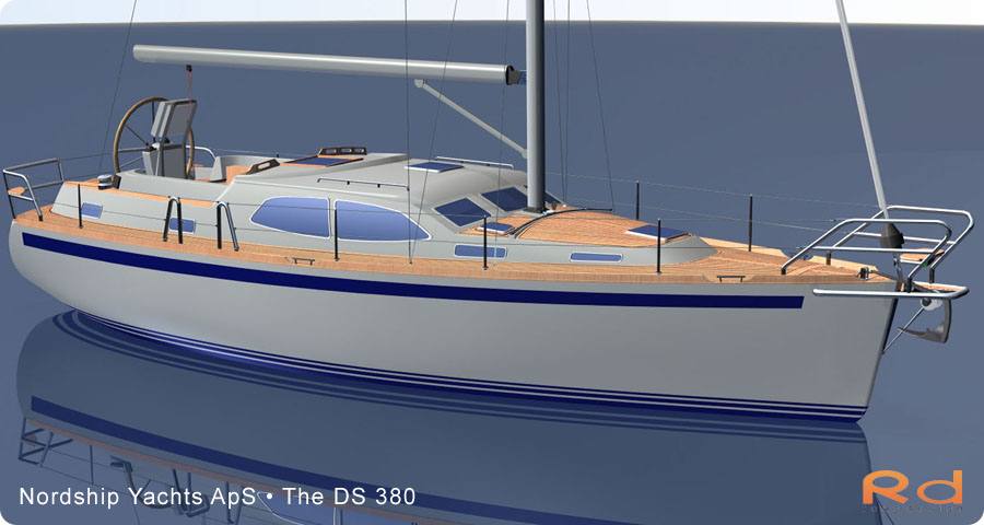 ds 380, roug design, rough designer, rouge design, Nordship 380DS, nordship yachts, 3d renderings, transportation design, BUCHWALD and BORGHEGN, Scandinavian yacht designs, Scandinavian luxury yachts, 3d art