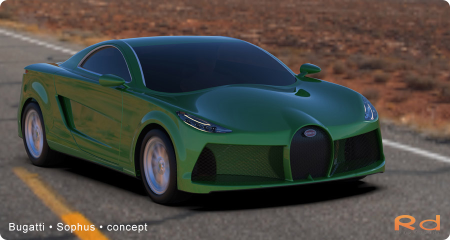 new car design, hot design, green car, automotive design
